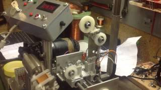 Homemade coil winder