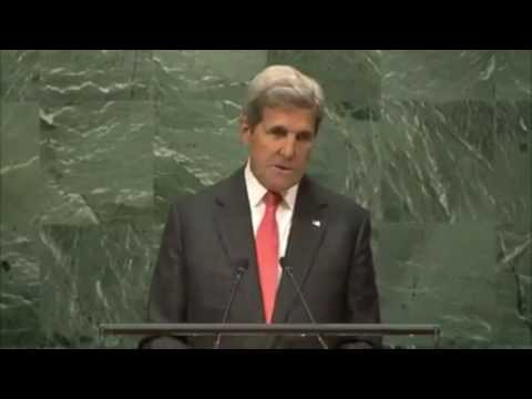 John Kerry Full speech on Paris Agreement on Climate Change at The United Nations Assembly 9/21/16