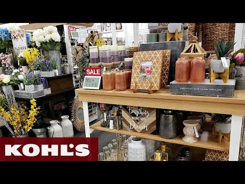 Kohl's FARMHOUSE & SPRING DECOR IDEAS SHOP WITH ME 2019