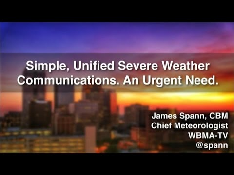 College of DuPage: AMS March 2017 Meeting with James Spann