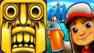 Subway Surfers Chicago VS Temple Run 2 iPad Gameplay for Children HD #155