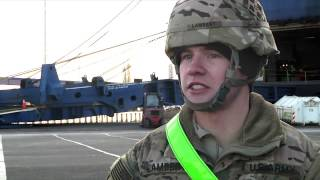 4th ID Conducts Seaport Operations in Germany (Broll)