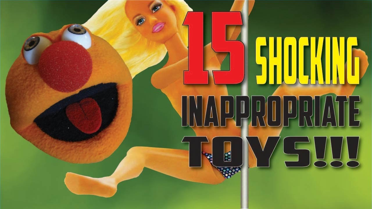 15 Most Shocking & Inappropriate Kid's Toys! - YouTube