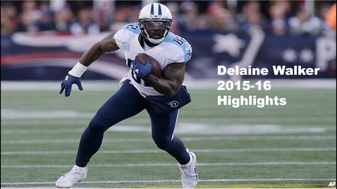 28ebcf63f8e 2016 Pro Bowl TE  Delaine Walker Highlights - NFL 2015-16 HD - YouTube