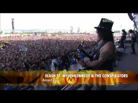 Slash Feat. Myles Kennedy & The Conspirators - Rock Am Ring 2015 FULL SHOW HD