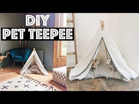 DIY Pet Teepee | LLimWalker