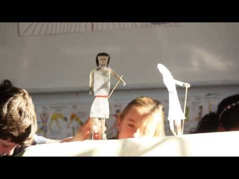 6th Grade Alphas Odyssey Puppet Show - Rainbow Community School