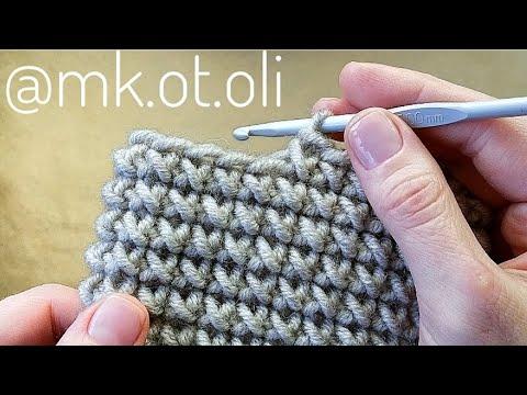 Как вязать плетеный узор крючком видео