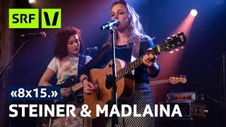 Steiner & Madlaina live im Salzhaus Brugg | 8x15 | SRF Virus