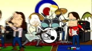 Pearl Jam - Gonna See My Friend (Cartoon Video) HD