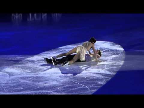 "HD Art on Ice 2016 Lausanne – Meryl Davis & Charlie White skate to Jessie J singing ""Flashlight"""