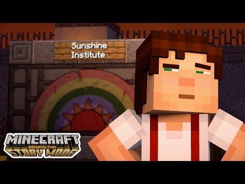 THE SUNSHINE INSTITUTE!?!?! | Minecraft : Story Mode Season 2 | Episode 3 [1]