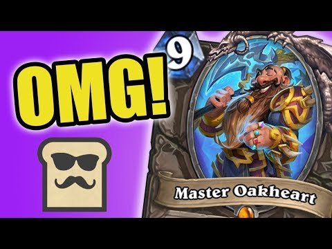 MASTER OAKHEART IS AMAZING! | KOBOLDS AND CATACOMBS | HEARTHSTONE | DISGUISED TOAST