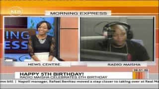 Happy Birthday : Radio Maisha celebrates 5th birthday