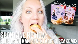 Spontane review: kant-en-klare cupcakemix van Blue Band x Furtjuh | OhMyFoodness