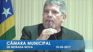 Dr Narcelio Pronunciamento 10 03 2017