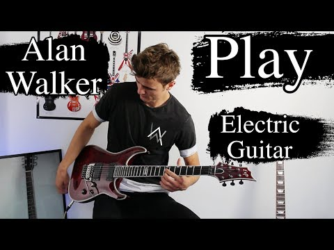 Alan Walker - Play - Electric Guitar Cover (JensJulius Tejlgaard Remix)