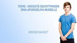 Toivo - Kriisistä selviytymisen oma-apuohjelma nuorille: Kriisin vaiheet