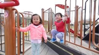 【沖縄公園】中城村南上原いとかま公園の絶景滑り台で遊んできたよ♪