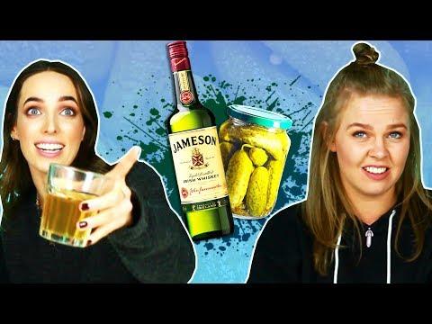 Irish People Try Weird Whiskey Mixes