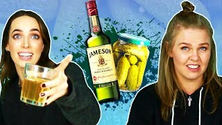 Irish People Try Weird Whiskey Mixes