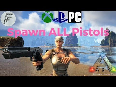ARK: Survival Evolved How to spawn Pistols