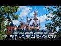 FIRST LOOK: Sleeping Beauty Castle with New Color Scheme - Disneyland Resort