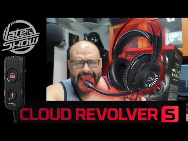 Hyperx Cloud Revolver S Youtube