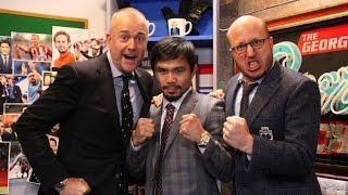 Watch: Manny Pacquiao Hilarious Scottish Accent