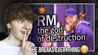 Download HE BREAKS EVERYTHING! (Why RM Is Called The God Of Destruction | Reaction/Review)