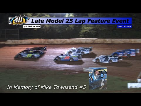 411 Motor Speedway Late Models 6 19 15