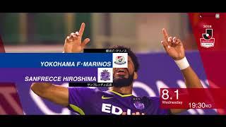 明治安田生命J1リーグ 第19節 横浜FMvs広島は2018年8月1日(水)ニッ...