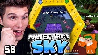 DIE NEUEN MODS SIND DA! & WIR BETRETEN DEN TWILLIGHT FOREST! ✪ Minecraft Sky #58 | Paluten