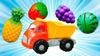 Ein lehrreiches Lied für Kinder. Wir lernen Englisch - Das Obst