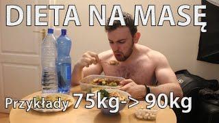 DIETA na MASĘ dla Ektomorfika (przykłady posiłków) MASA NATURALNIE chudy trenuje cz.3