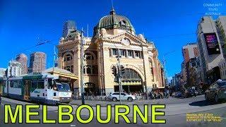 MELBOURNE TOUR AROUND THE CITY CENTRE CBD 2018