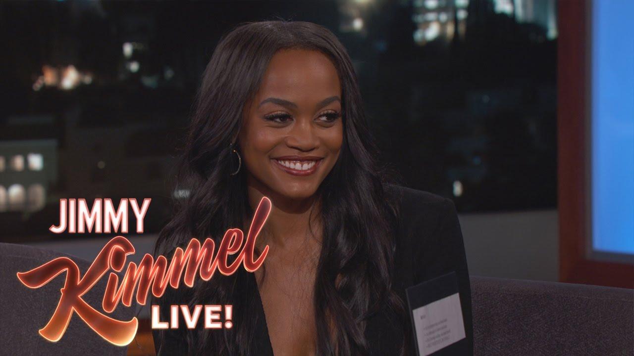 Jimmy Kimmel Predicts The Winner Of Bachelorette With Rachel Lindsay