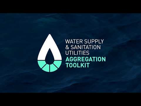 Welcome | Toolkit on the Aggregation of Water Supply and Sanitation Utilities