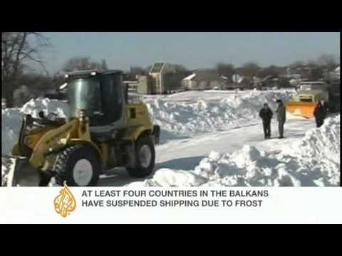 Al Jazeera's Jonah Hull reports on Serbia's cold snap