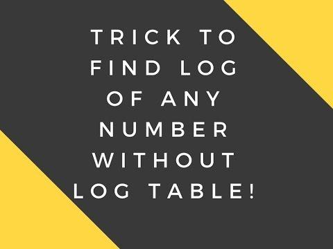 Logarithm Table Book Pdf