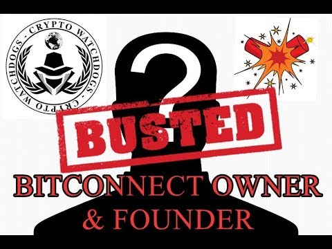 Bitconnect Owner Discovered!! Scam! Class Action Lawsuit!
