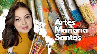 O QUE PRECISO COMPRAR PARA PINTAR? A B C – Artes Mariana Santos