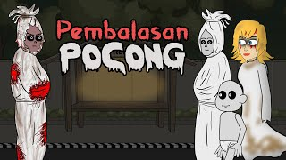 Download Pocong Takut Pocong - Part 2 | Animasi Horor Kartun Lucu | Warganet Life Mp3