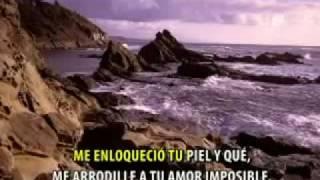 me enamoré de ti y qué -karaoke  cumbia