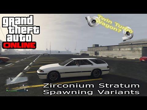 GTA Online- Zirconium Stratum- All Spawning Variants and Details