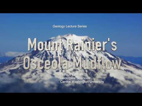 Mount Rainier's Osceola Mudflow