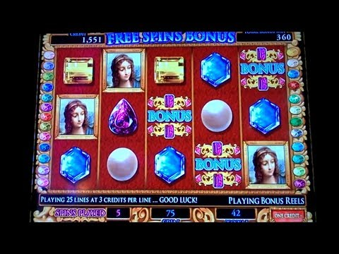Da Vinci Diamonds Bonus 5c IGt Video Slot  in Casino