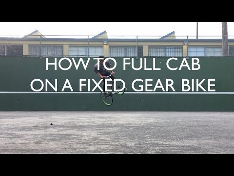 How To Full Cab on a Fixed Gear Bike