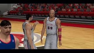 PS2 - NBA 09: The Inside Gameplay [4K]
