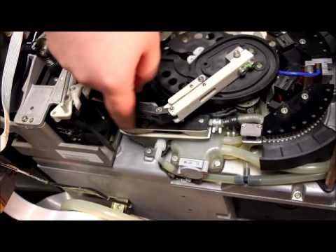 3490 tape drive cleaning - YouTube